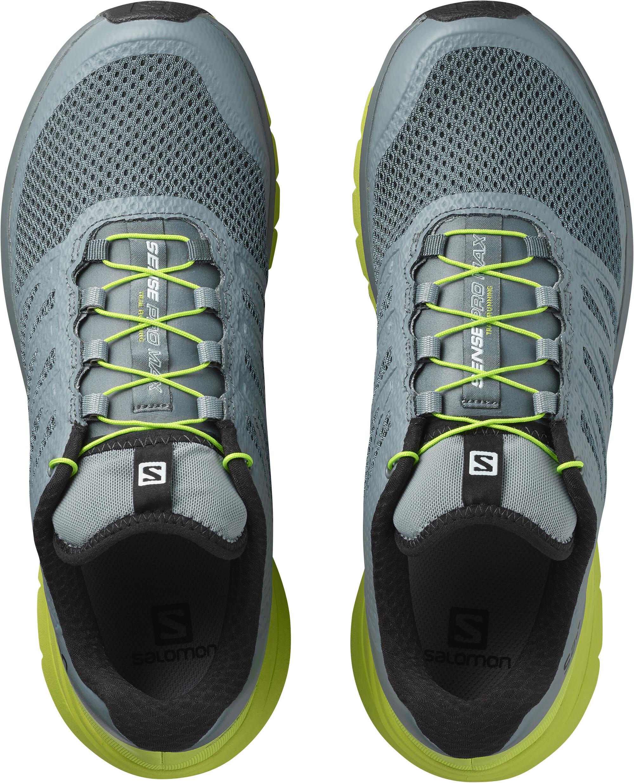 the best attitude faf26 7a604 Salomon Sense Pro Max - Chaussures running Homme - jaune gris